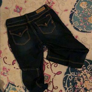 Seven dark blue skinny legging / style jeans